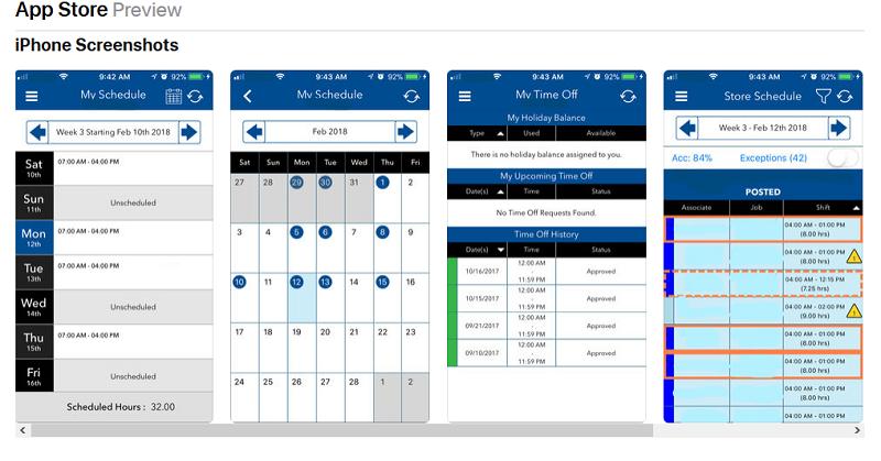 My Walmart Schedule App - WalmartOne Work Schedule Online
