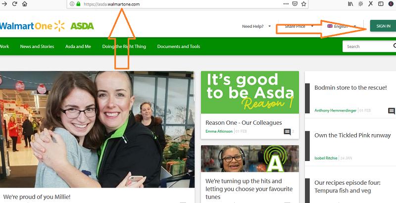asda.walmartone.com - ASDA Walmartone UK