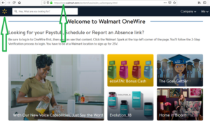 Walmart Onewire login - One Walmart com